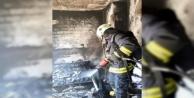Alanya'da yangın! Ev küle döndü