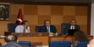 ALTSO Meclisi'nin konuğu AHEP Rektörü Öner oldu