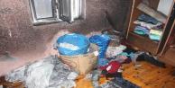 Çakmakla oynayan 3 yaşındaki çocuk evde yangın çıkardı