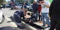 Alanya'da bir motosiklet kazası daha!