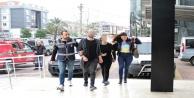 Alanya'da baskında yakalanan uyuşturucu şüphelileri serbest!