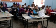 Alanyalı öğrenciler Elazığ'daki kardeşlerini unutmadılar!