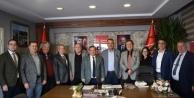 CHP Alanya'dan Antalya ziyareti