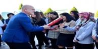 OSB 8 Mart Karanfillerle kutladı
