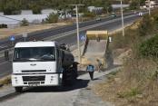 Yeşilöz'e 4 km asfalt