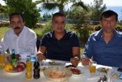 Kadro kutlama yemeğine katıldı