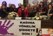 Alanya'dan aile içi şiddete tepki