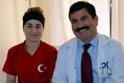 Milli sporcu Alanya'da tedavi gördü