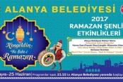 Alanya'da Ramazan eğlenceleri başladı
