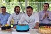 Başkan Yücel'e doğum günü sürprizi