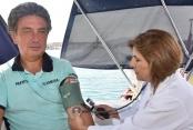 Şişme botla 90 günlük yolculuk Alanya'da son buldu
