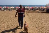 Alanya'da plajlarda güvenlik önlemi artırıldı