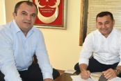 Başkan Yücel Vakıfbank'la protokol imzaladı