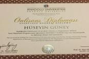 Güney yönetim diploması aldı