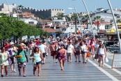 Bayram tatili turizme hareket getirdi