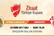 Alanyaspor Türkiye Kupası sahnesine çıkıyor