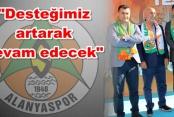 Başkan Türel'den destek sözü