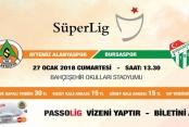Bursaspor maç biletleri satışta