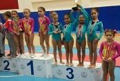 Belediyespor jimnastikte de başarısını tescilledi
