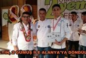 Alanya'nın genç aşçılarından büyük başarı