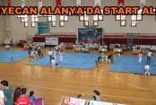 280 sporcu Alanya'da yarışıyor