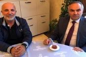 Çavuşoğlu'na belediye başkanlarından ziyaret