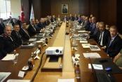 Başkan Çavuşoğlu istişare toplantısında