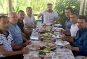 Şahin'den Mahmutlarspor ziyareti
