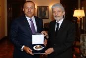 Mustafa Tuna'dan Çavuşoğlu'na 'hayırlı olsun'