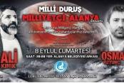 Ali Kınık ve Osman Öztunç geliyor!