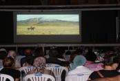 Alanya'da açık hava sinema keyfi