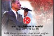 Türkdoğan'dan Cumhuriyet konserine davet