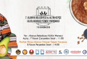 7. Uluslararası yemek Yarışması'na sayılı günler kaldı