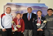 Şampiyonlar Kupalarıyla Harputlu'yu ziyaret etti