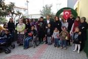 Günışığı Rehabilitasyon Merkezi Ata'mızı unutmadı