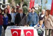 Vatan Partisi Alanya  'Bilgilendirme Masası'nı açtı