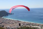Dünya Yamaç Paraşütü Şampiyonası Alanya'da sona erdi