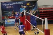 Alanya'da voleybol müsabakaları başladı