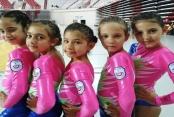 Alanya'nın minik jimnastikçileri Antalya şampiyonu oldu