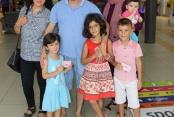 Alanyum AVM 13. yaşını çocuklarla kutladı