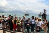 Şehit ve Gazi aileleri Alanya'yı onurlandırdı