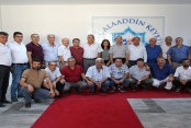 Kahramanmaraşlılar'dan Rektör Pınarbaşı'na ziyaret