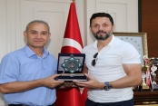 Alanyaspor'dan Rektör Pınarbaşı'na ziyaret