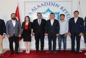 Rektör Kalan Ak Parti Gençlik Kollarını kabul etti