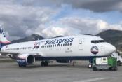 Alanyaspor uçağı Sivas'a inemedi
