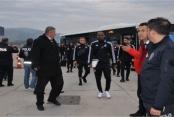 Beşiktaş Alanya'ya geldi