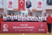 Kızlar Anadolu Şampiyonasına gidiyor