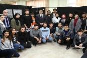 ALKÜ Mimarlık sergisine Rektör Kalan'dan ziyaret