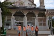 Alanya'da büyükşehirden korona önlemi