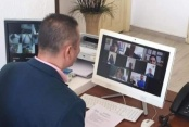 Alanya'da okul müdürleri online toplandı
